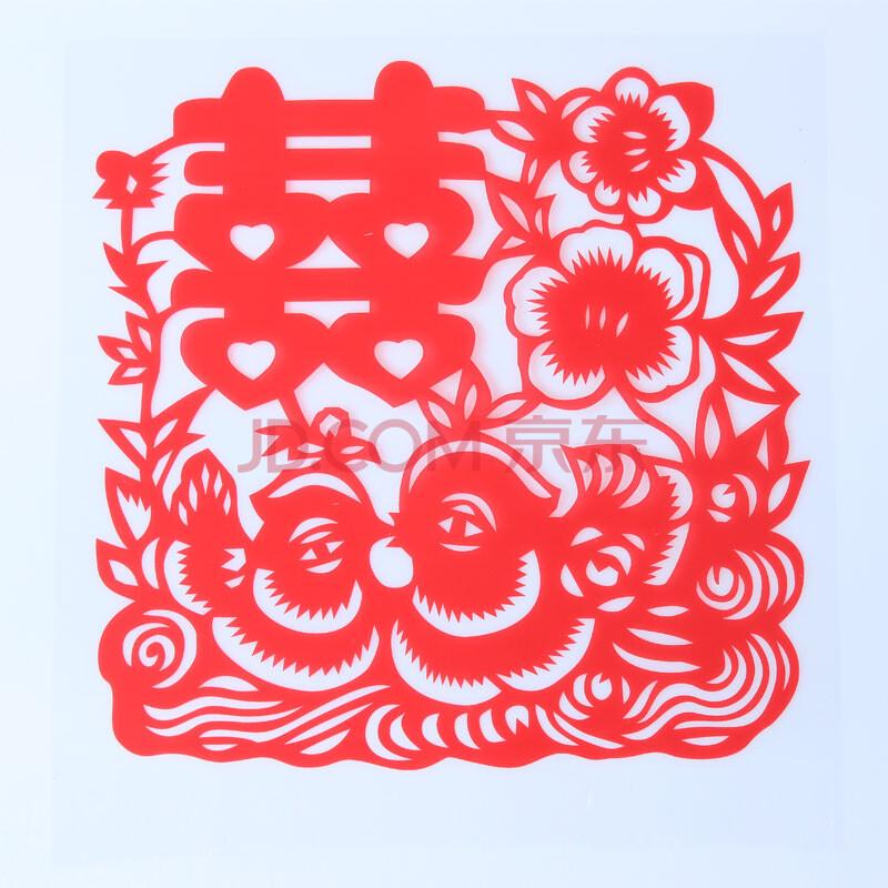 中国风喜庆剪纸图片