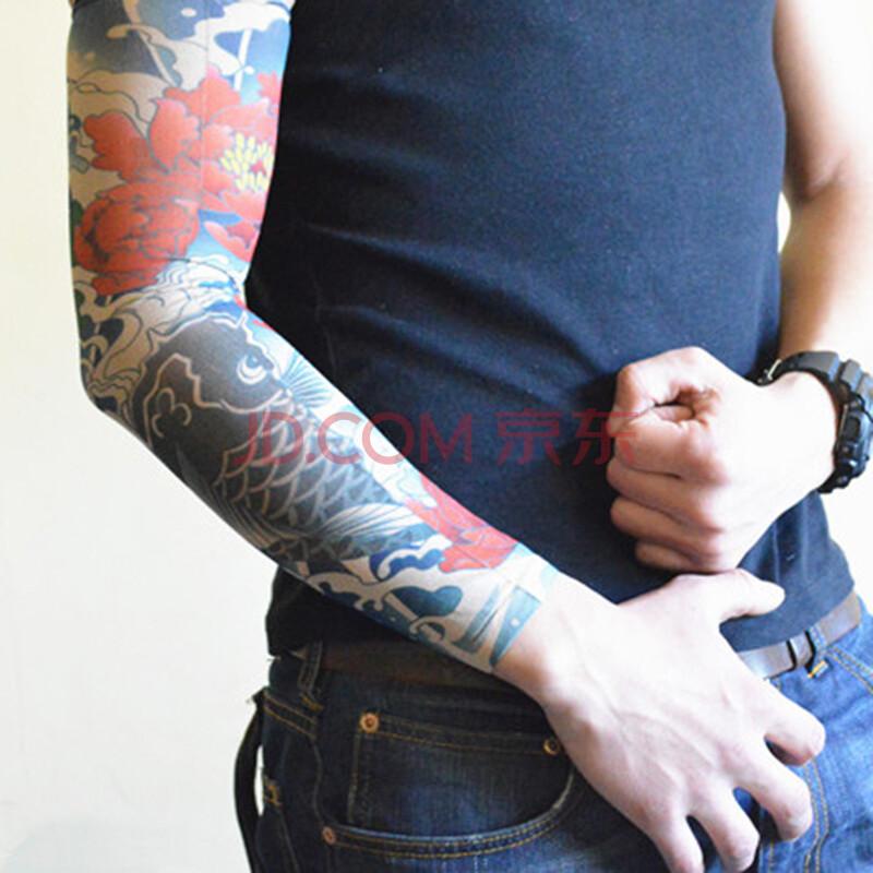单车袖套运动纹身袖套