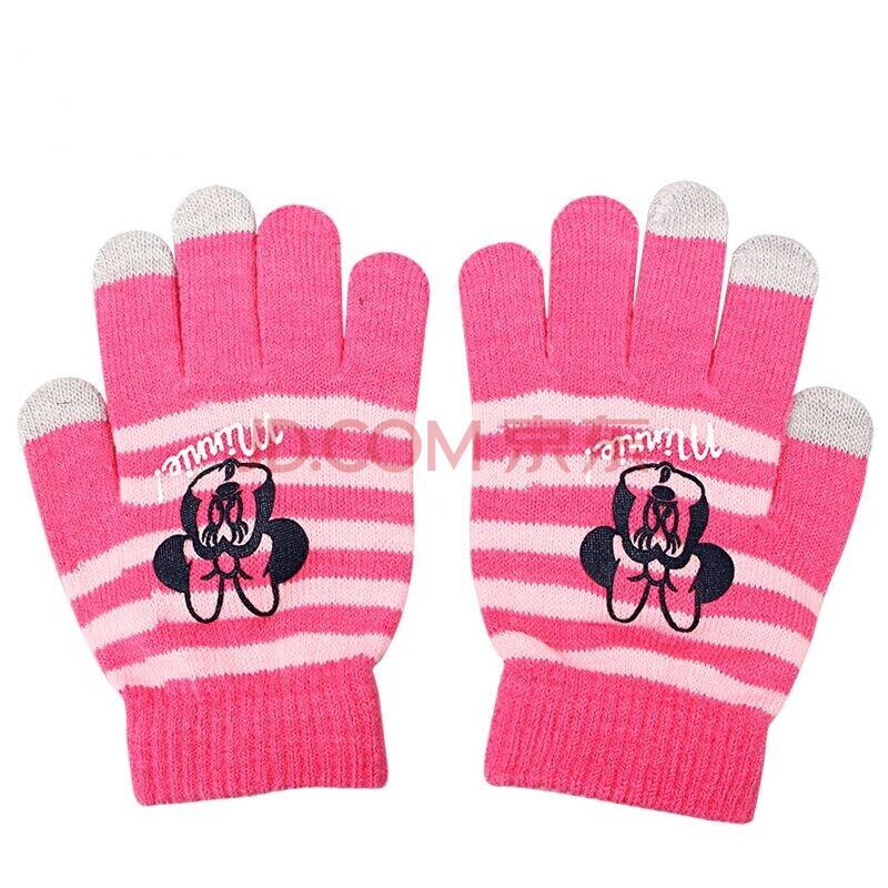 宝宝五指手套的织法