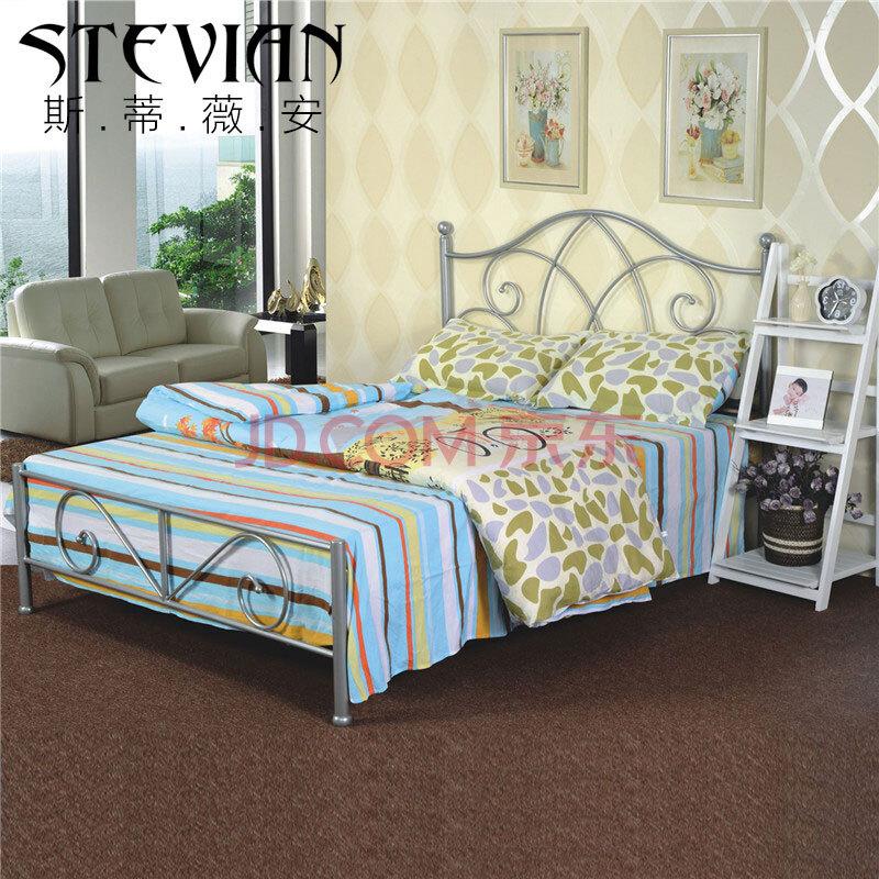 卧室家具宜家欧式铁艺床美式乡村复古韩式公主田园g9
