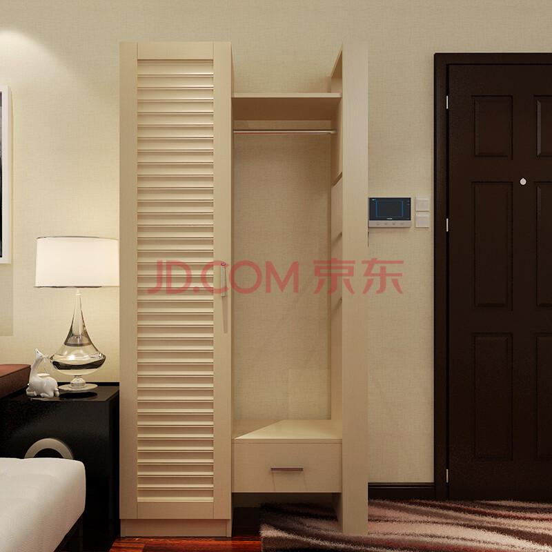 鞋柜 门厅柜 带镜子换鞋凳鞋柜进门衣帽柜穿衣镜推拉