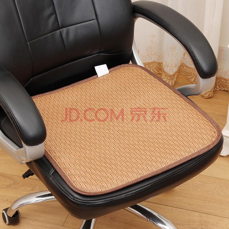 夏季木草加厚双面凉席椅子坐垫办公室座椅垫夏天透气电脑椅凉坐垫