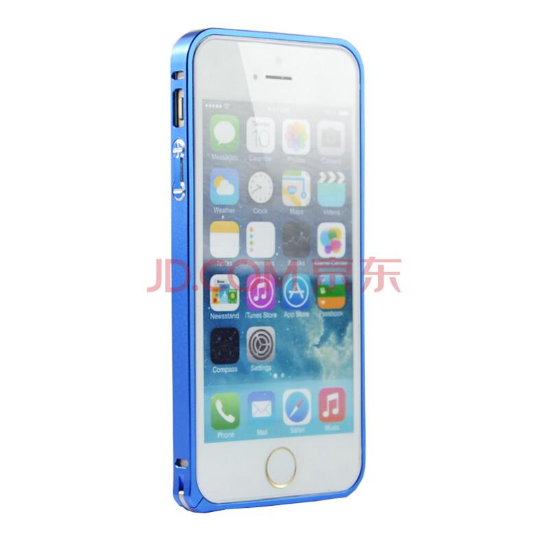 风彩手机iphone5/5s金属框保护壳边框5长袖轻薄苹果女童海马扣保护织里苹果金属图片