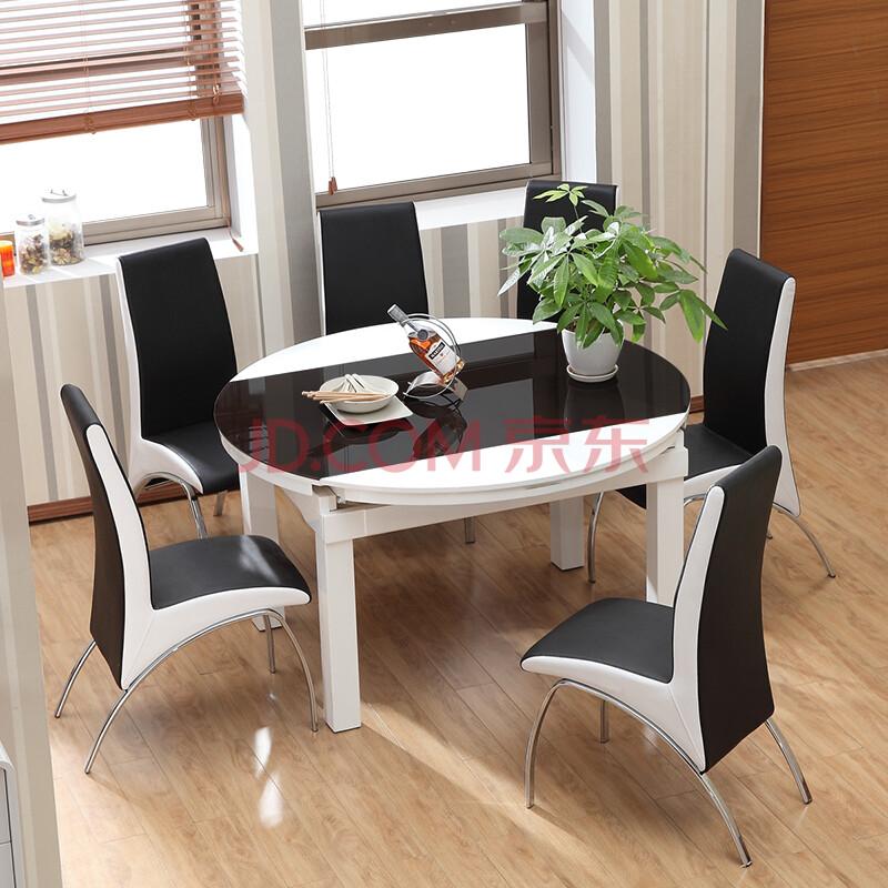 实木餐桌 折叠餐台