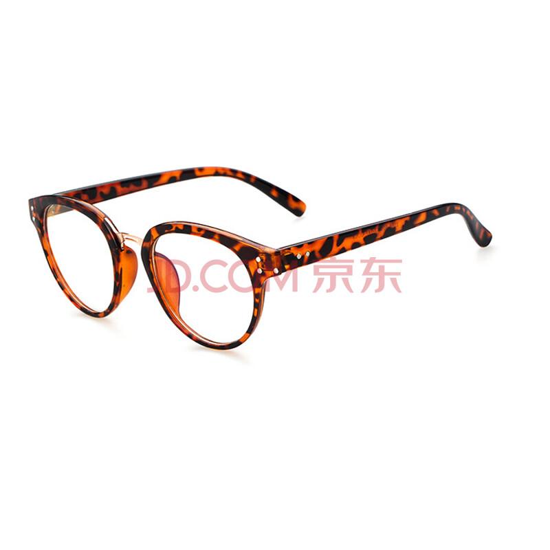 2016新款复古大框平光眼镜架潮学生眼镜