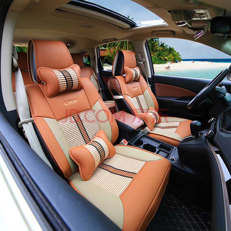 圣利罗 东风本田新crv坐垫 crv汽车专用坐垫四季通用全包围坐垫套图片