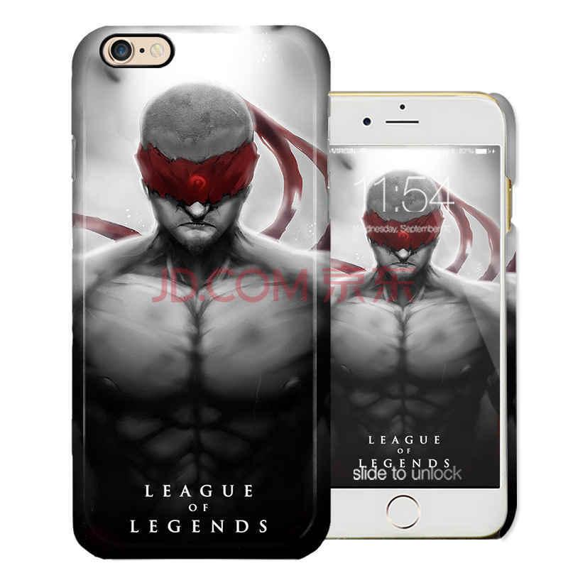 英雄联盟手机壳 适用于苹果6p手机壳iphone6splus保护壳手机壳lol硬壳