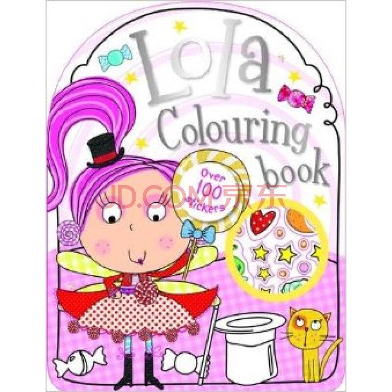 lola the lollipop fairy sticker and colouring book bumper图片