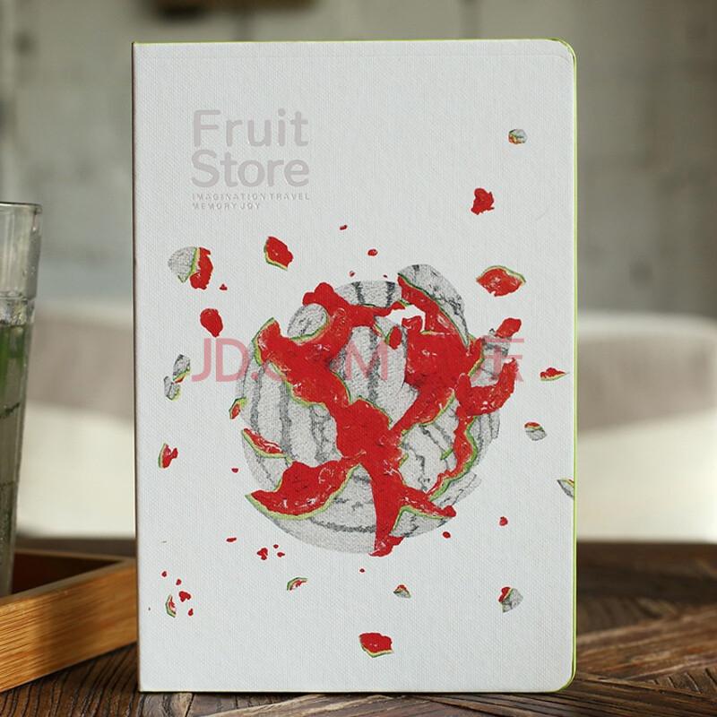 腾彩限量珍藏版 水果礼盒 笔记本文具 手绘本子 送礼佳 水果礼盒西瓜