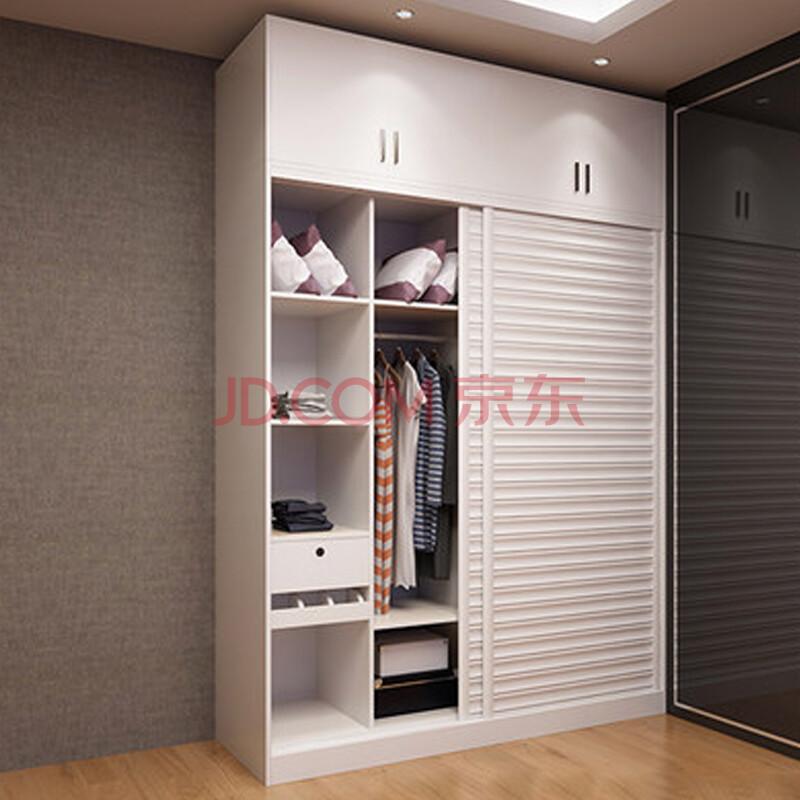 唯有唯美衣柜组合推拉门大衣柜整体衣柜移门卧室家具支持定制 1.
