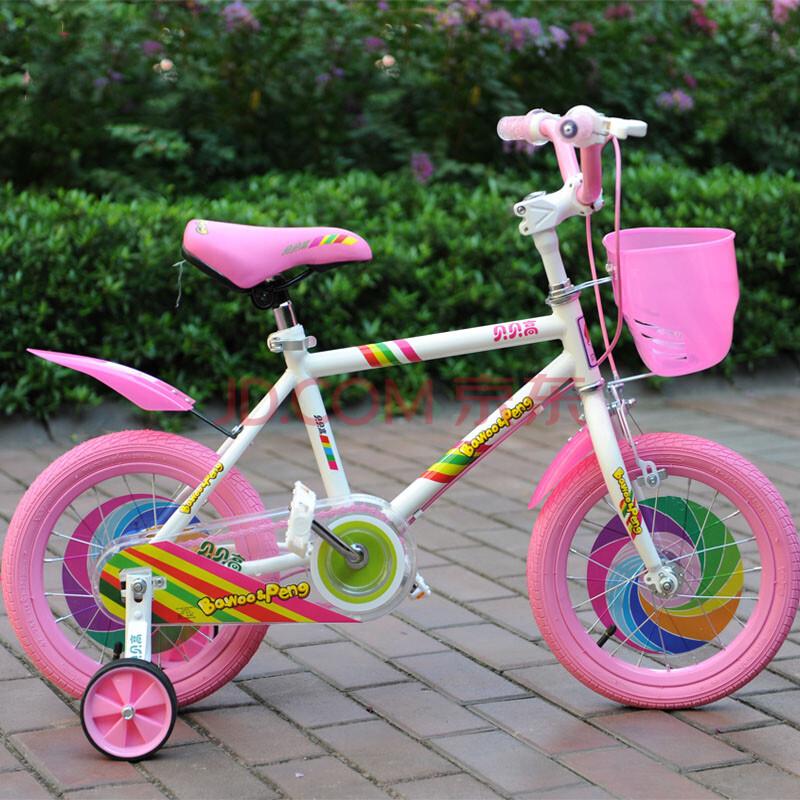 彩虹款儿童自行车