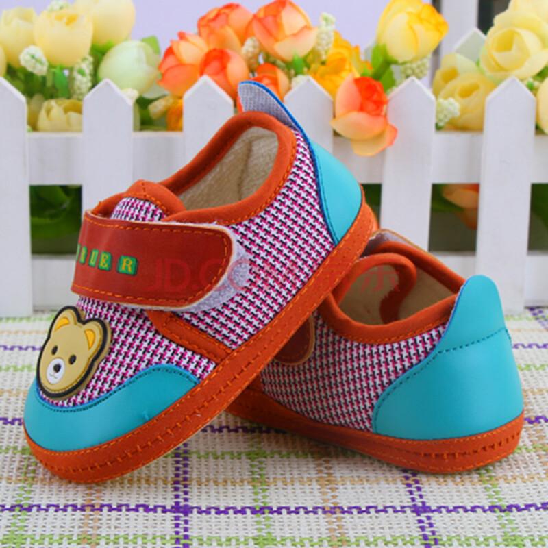 婴儿鞋 宝宝鞋春秋布鞋0-1岁婴儿步前鞋学步鞋软底鞋