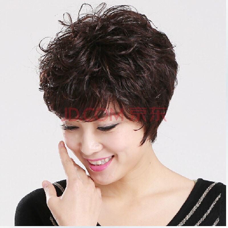 女士短发烫发发型图片大全