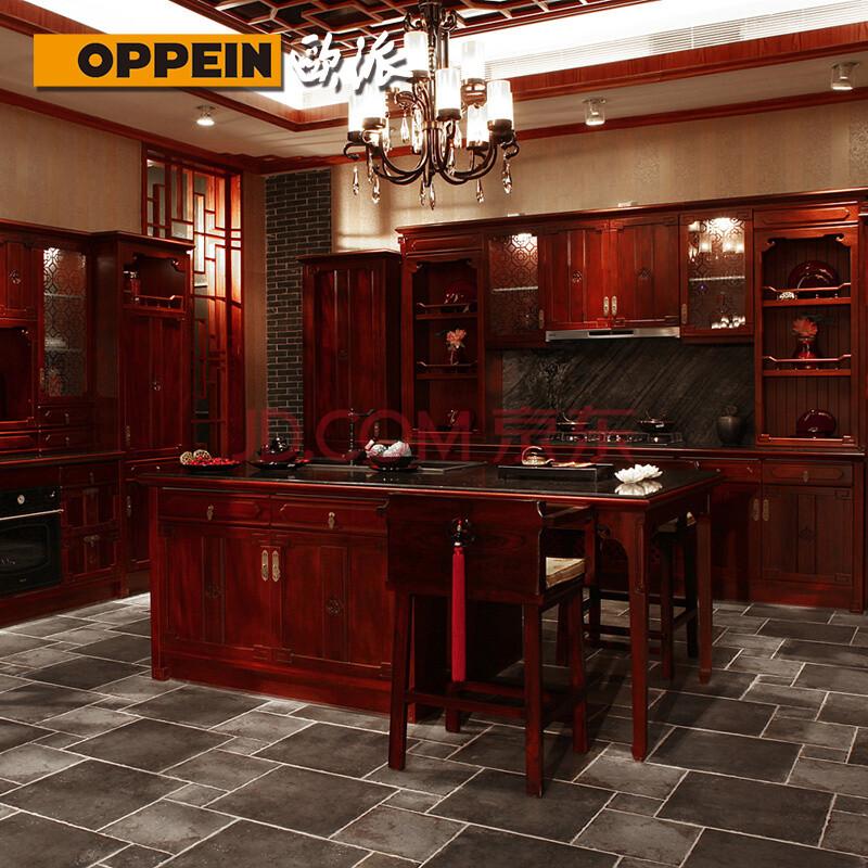 门板中式风格厨柜图片