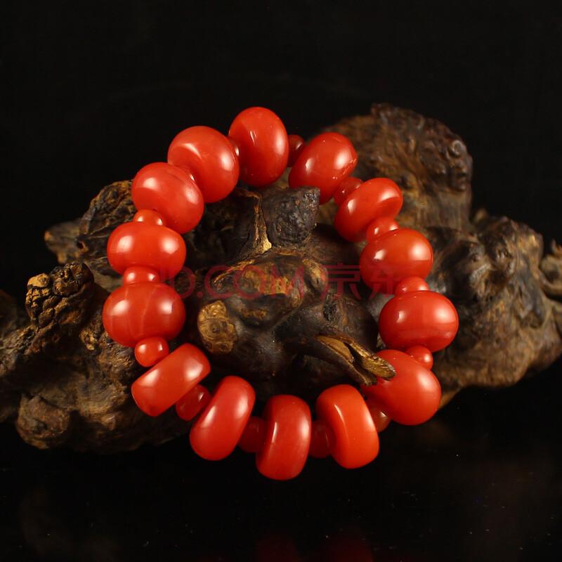 66克南红玛瑙盘珠手链  商品编号:10437179295