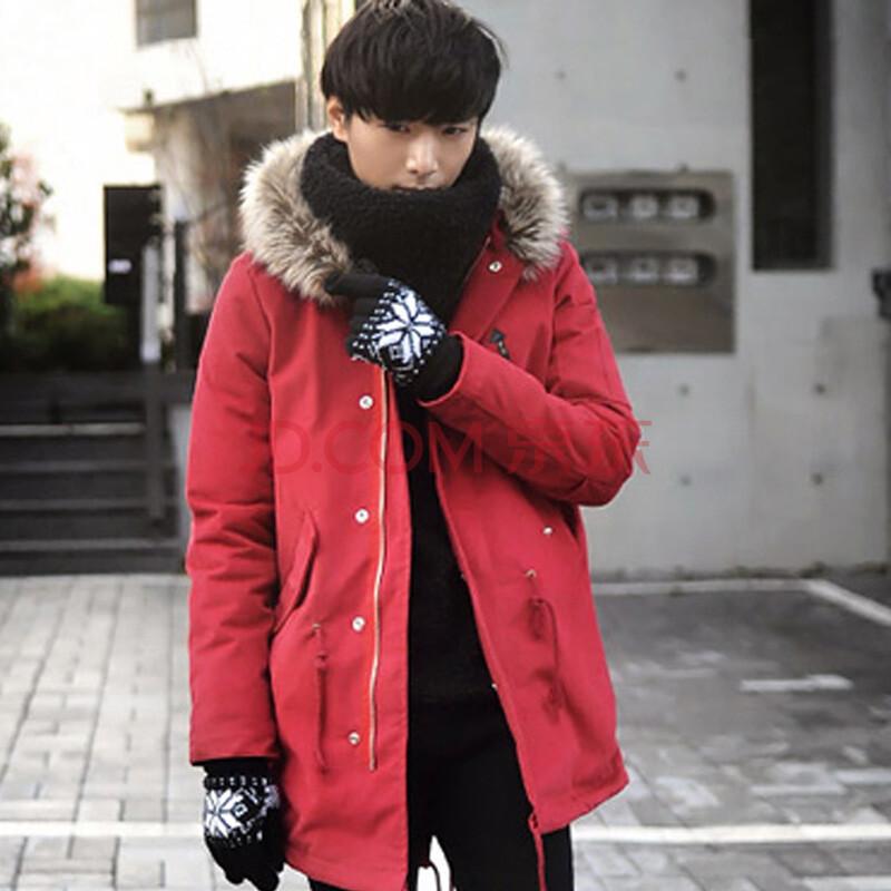 男外套舒适时尚 潮 红色