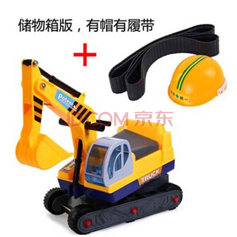 11挖土机可坐可骑脚踏儿童挖掘机钩机铲车玩具