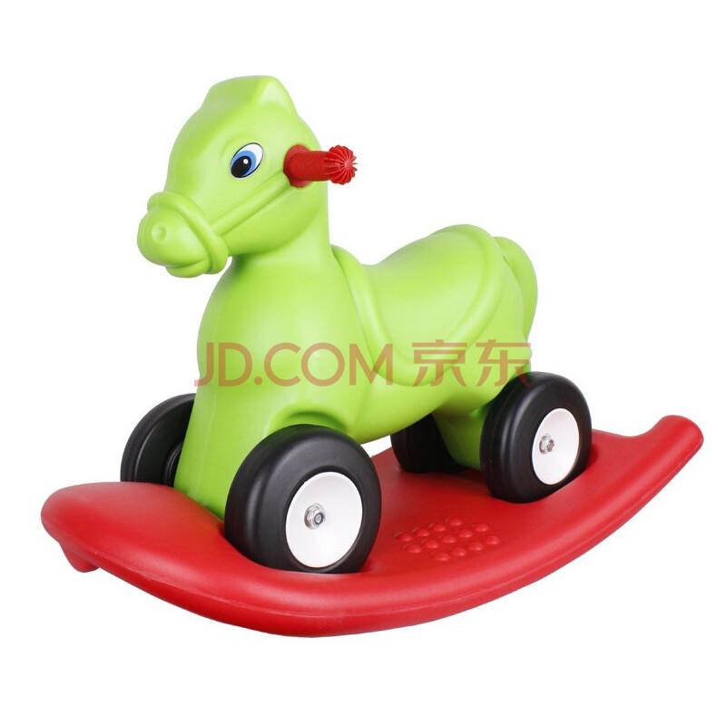 车咪咪狗塑料滑滑车摇摇马