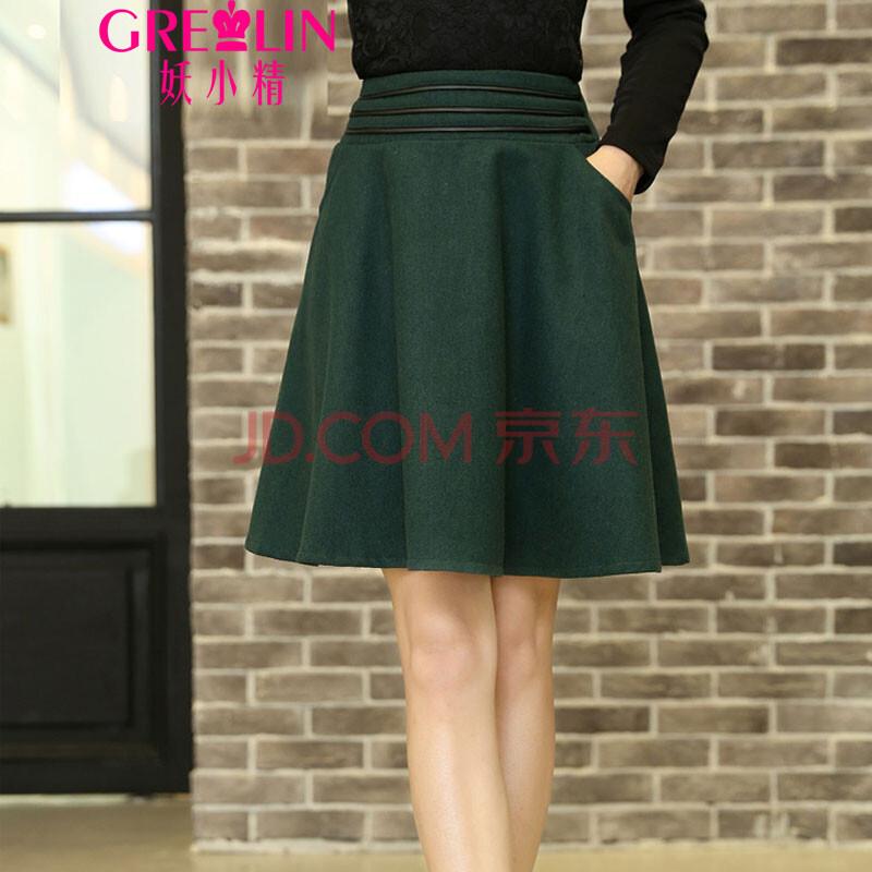 大摆裙半身裙-6568
