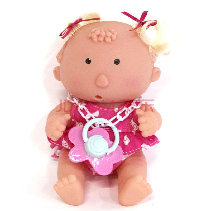 入水洗澡场景儿童玩具眼睛塑胶过家家积木哭笑说话洋娃娃小女孩软胶牌子什么婴儿好图片