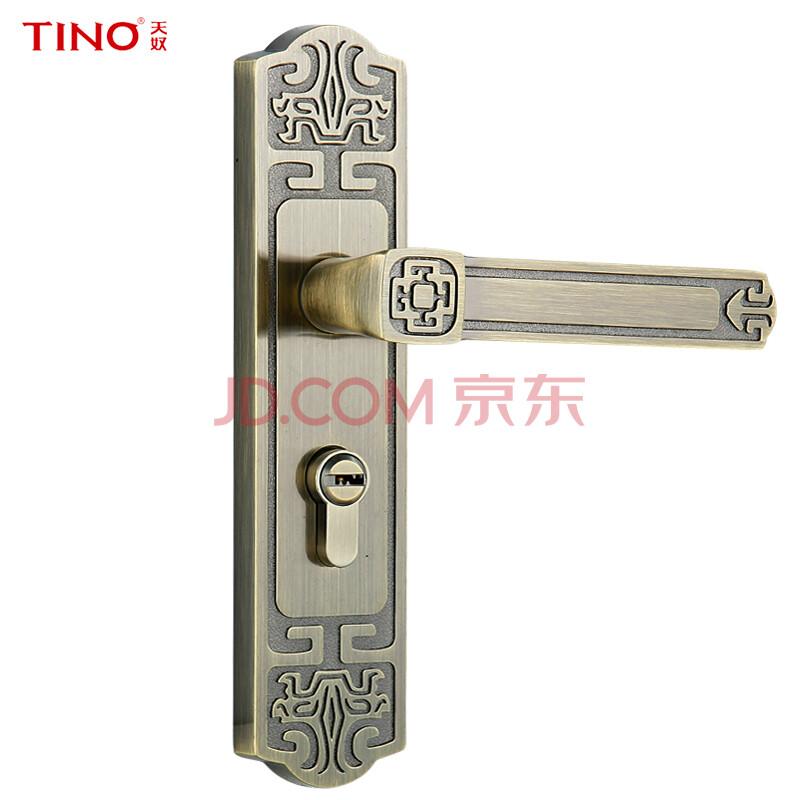 天奴五金中式仿古锁具男童反提门锁执手锁93图纸风衣卧室图片