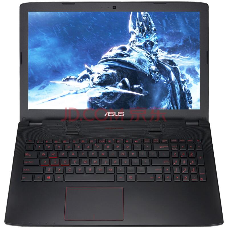 华硕(ASUS) 飞行堡垒尊享版FX-PRO 15.6英寸游戏笔记本电脑 (i7-6700HQ 8G 1TB HDD GTX960M 2G独显 灰色 FHD)