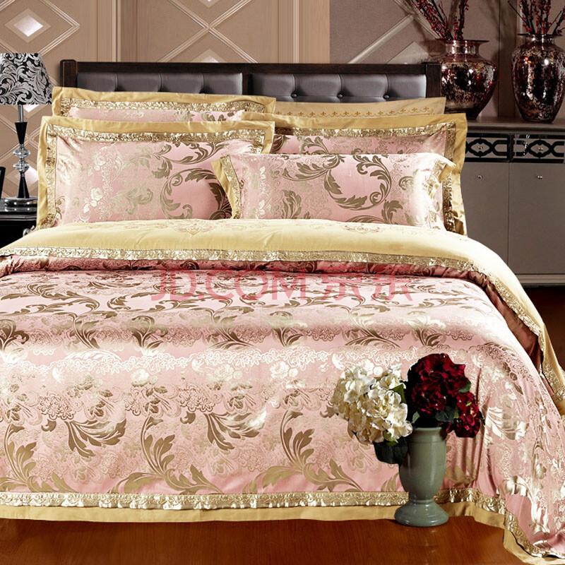 欧式全棉提花床单四件套
