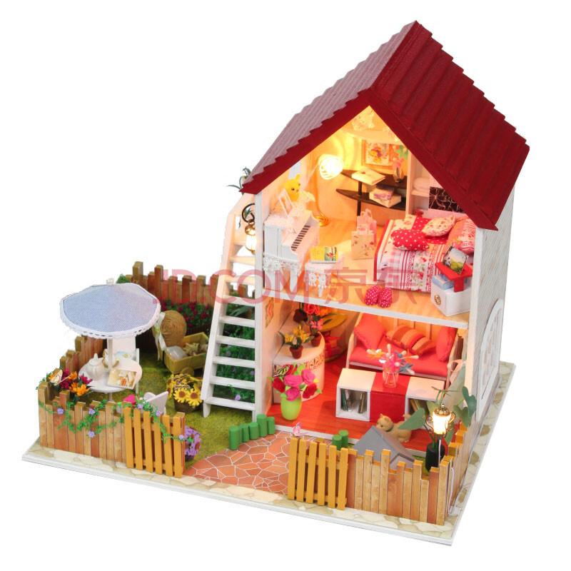 生日礼物手工房子图片