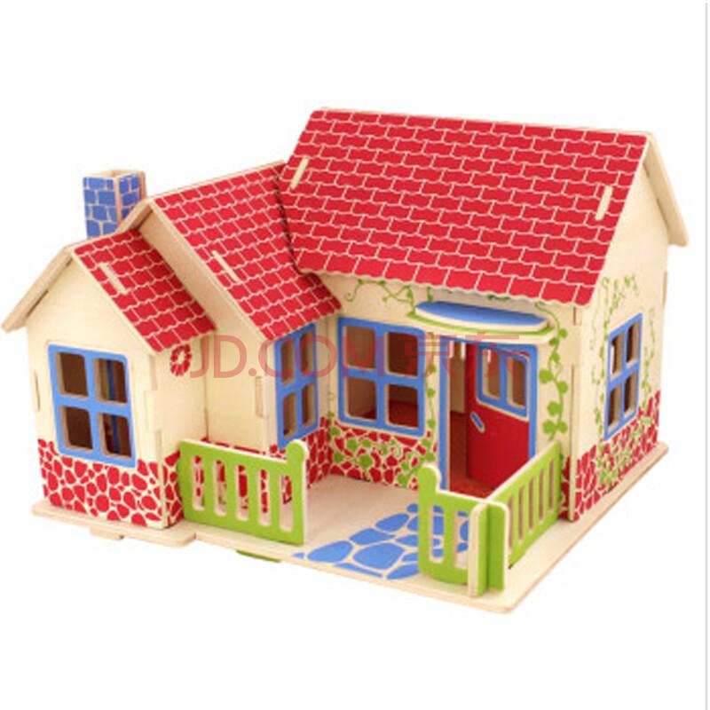 拼装玩具房子图纸