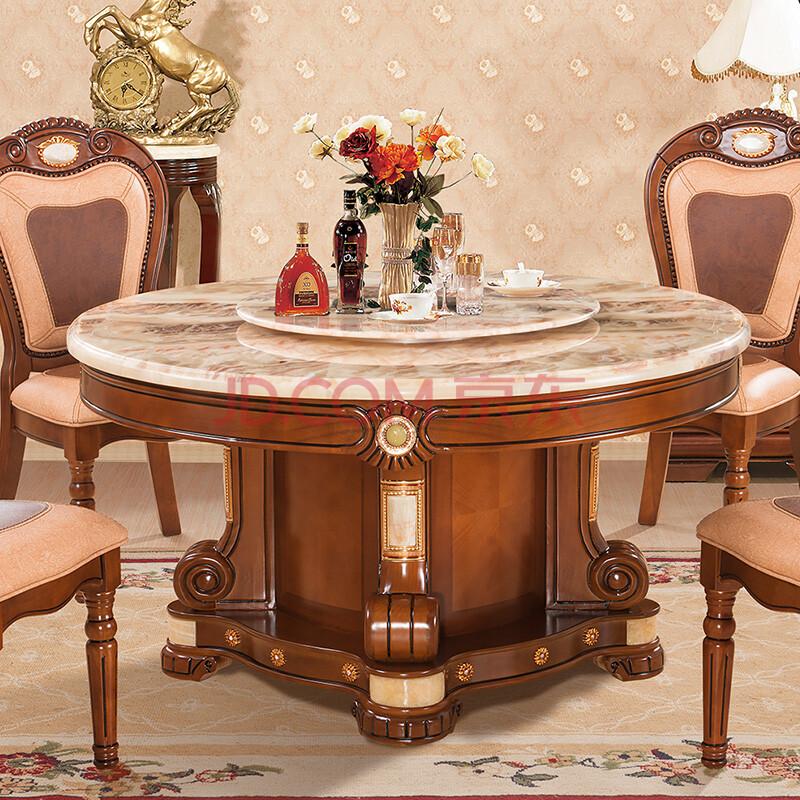 餐桌 天然大理石圆桌图片