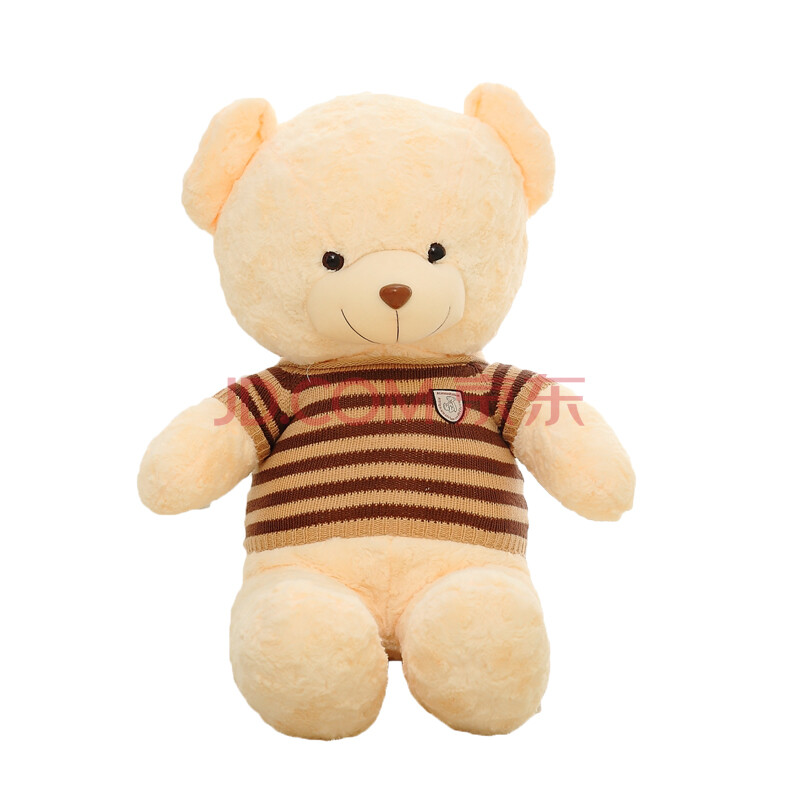 玛格丽特 可爱布娃娃 彩色毛衣熊 毛绒玩具大号泰迪熊
