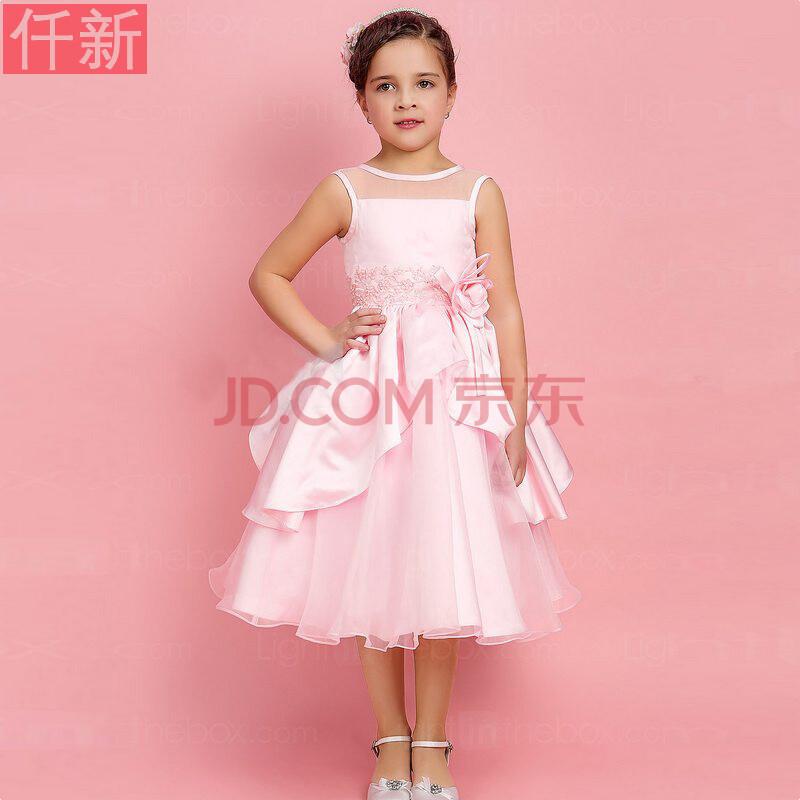 主持人蓬蓬裙儿童裙图片