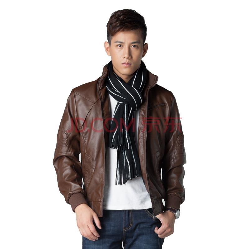 男士皮夹克 秋冬新款男皮衣(800x800)-男士皮夹克 男土纯皮夹克 男