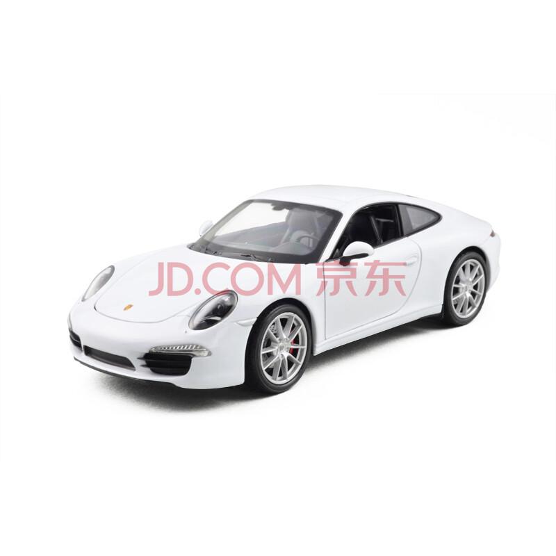 合金汽车仿真模型玩具车模1:24保时捷918卡雷拉911