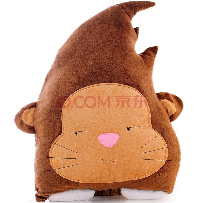 卡通创意个性可爱毛绒玩具睡觉靠垫靠枕女生圣诞礼物七夕情人节礼物