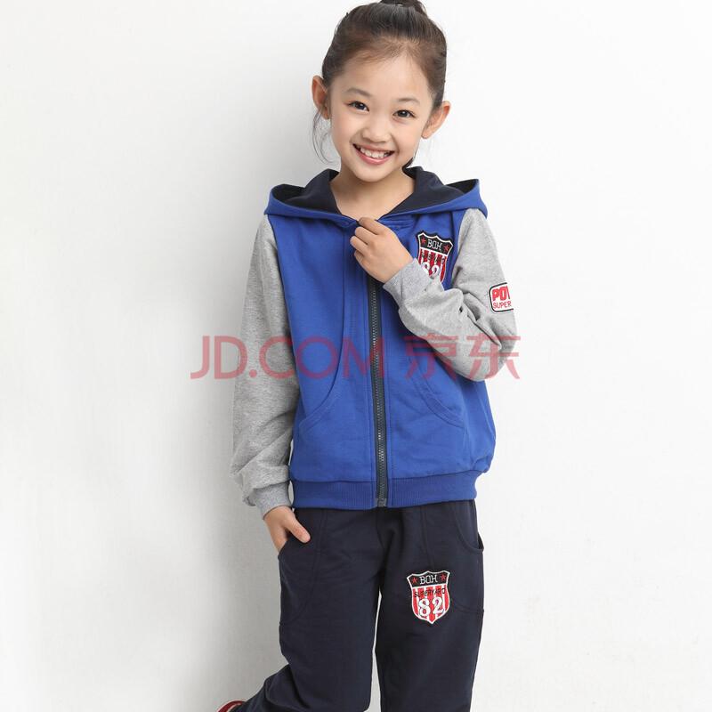 秋装2014新款男童儿童运动男孩套装小孩衣服大童男装