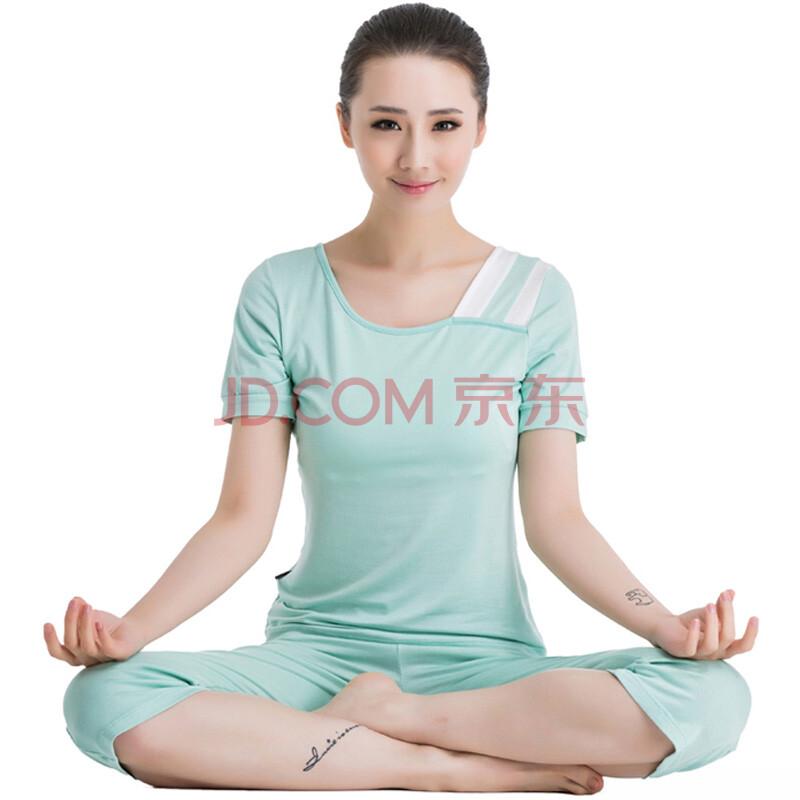 瑜伽服套装女新款春夏秋冬2014环保人棉美女