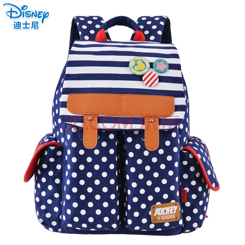 迪士尼(disney)幼儿园书包 韩版小书包 学前班书包 幼儿可爱宝宝背包
