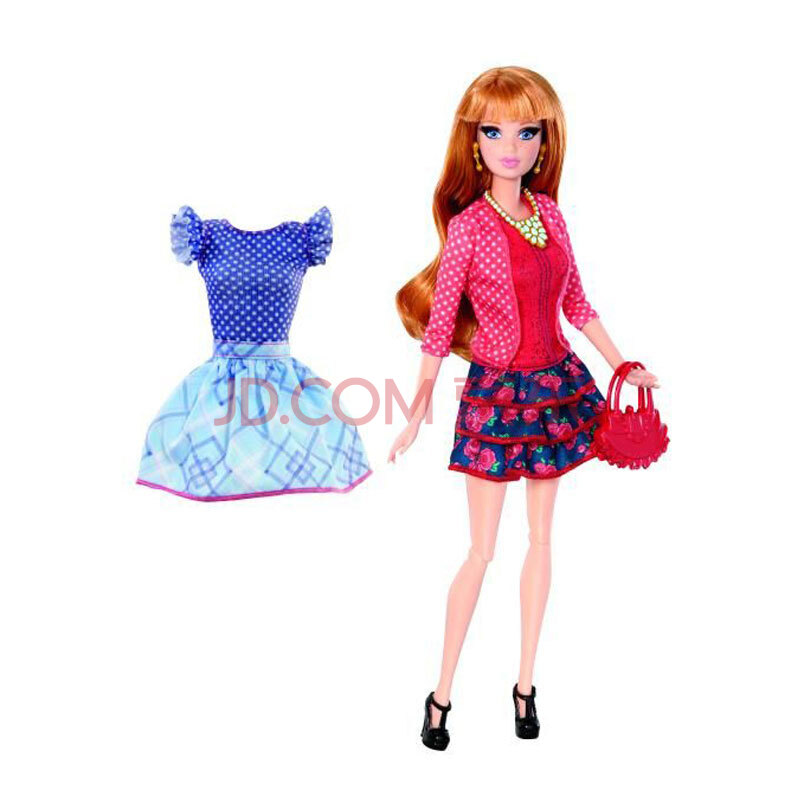 arie芭比娃娃梦想战争玩具大战之女孩上衣y7442/y7436玩具豪宅红色兵娃娃萨基时尚中文版图片