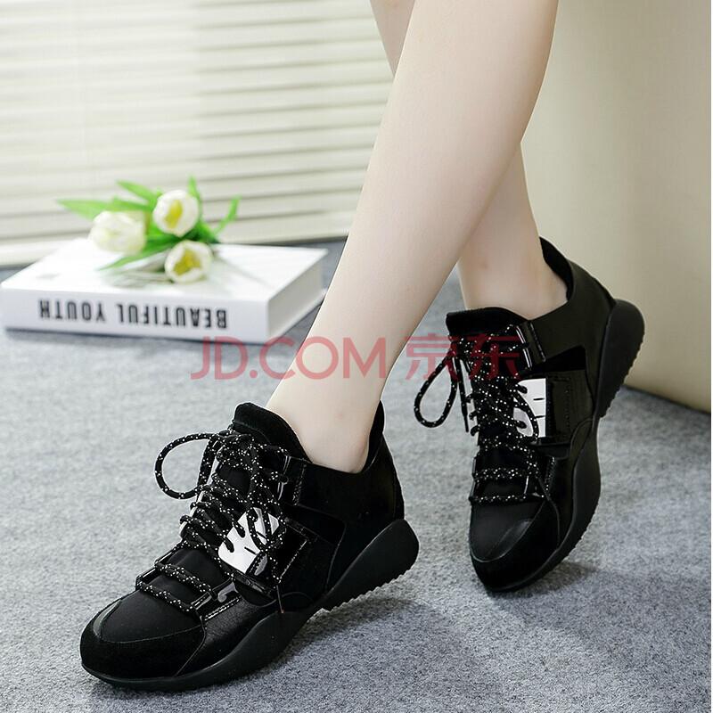潮流韩版女式内增高鞋