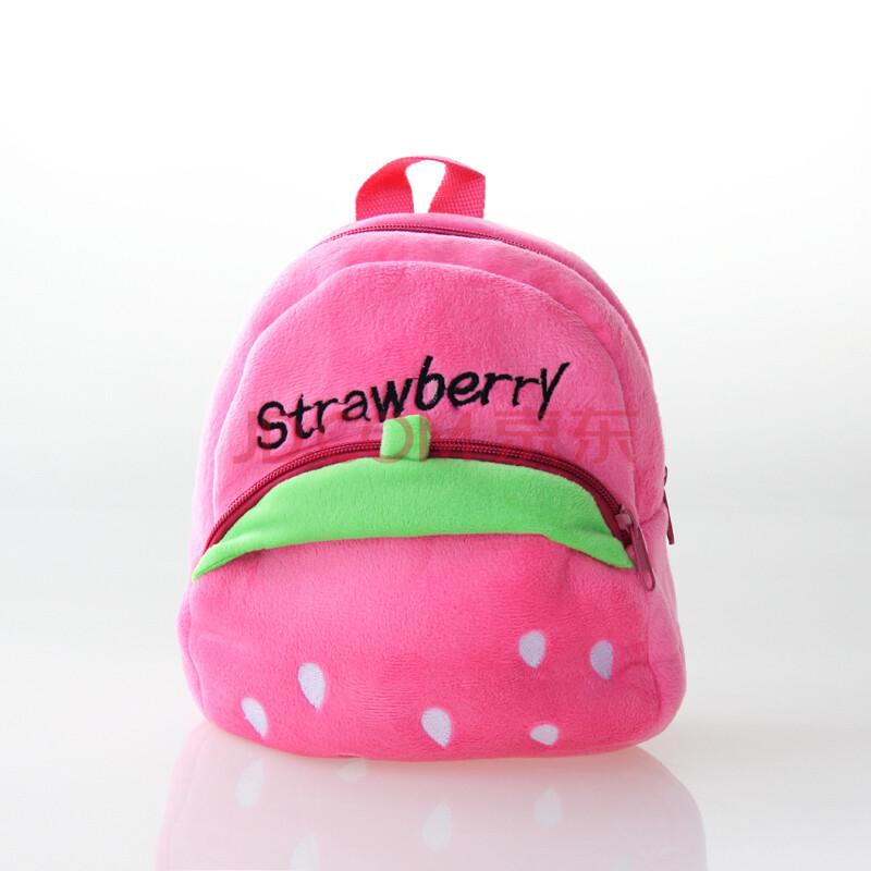 意婴堡 韩版可爱卡通小熊书包 儿童走步包幼儿防走失双肩背包 c款粉色