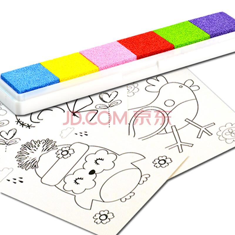无毒可水洗彩色宝宝涂鸦画画绘画套装玩具