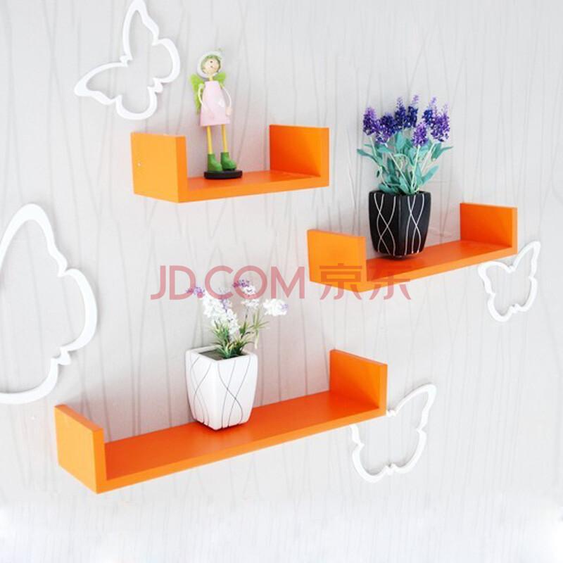 一字搁板 隔板置物架等木制工艺品 创意格子创意隔板壁挂架壁挂壁饰(3