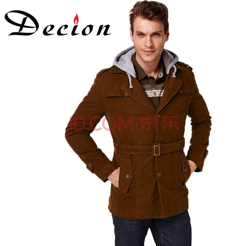 棕色薄外套搭配图