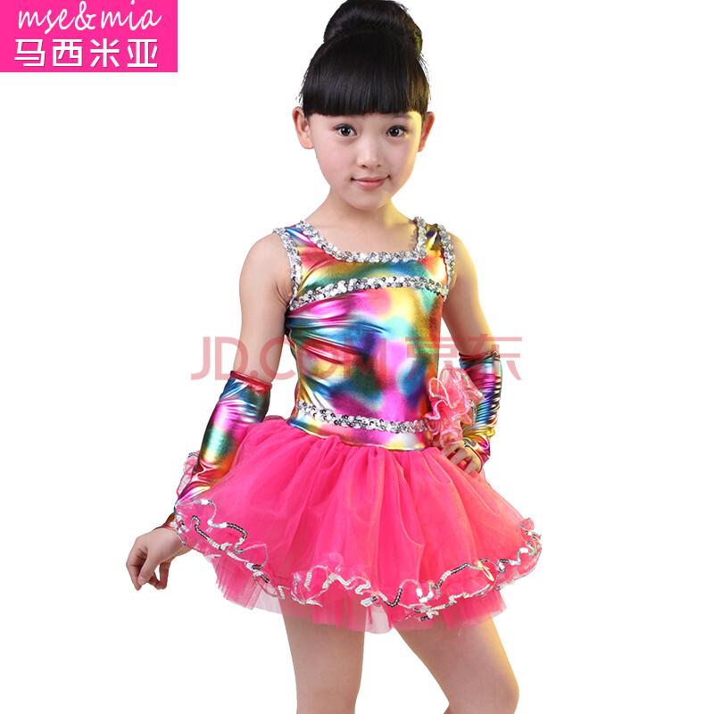 元旦圣诞节儿童演出服装女