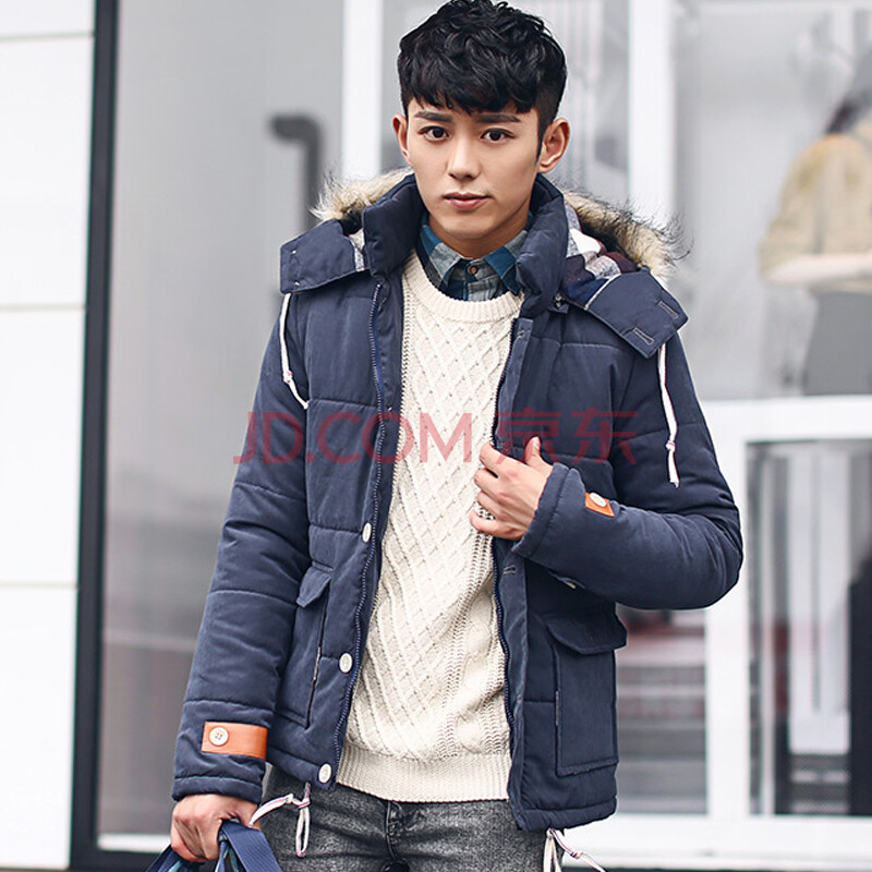 青少年潮男男装_风影轻舞 2014新款冬装青少年潮男款男士学生男装韩版