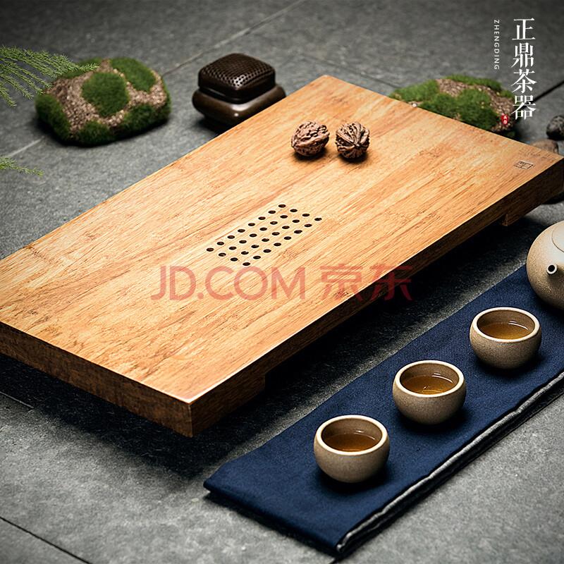 正鼎《道》重竹实木茶盘 抽屉式储水式竹制功夫茶具 特价茶海茶台 道