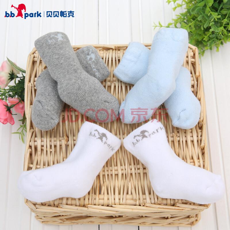 儿童袜子宝宝纯棉毛巾袜3