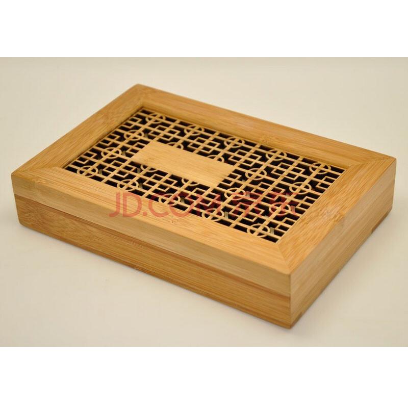 竹节花纹古琴3件套礼盒 108(21cm)图片