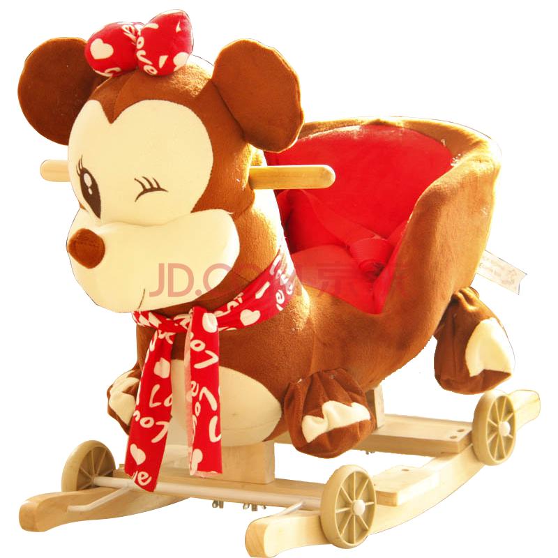 玩具大象木马摇马 摇椅带音乐儿童摇椅两用